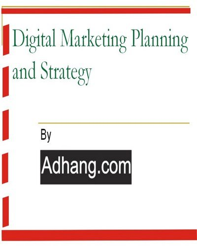 Free ebook Digital marketing planning and strategy Nigeria by Adhang.com