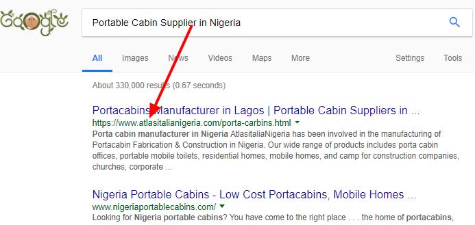 Nigerian search engine optimization service